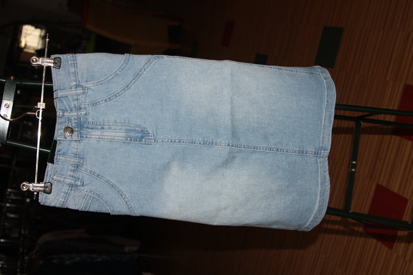 Damen Jeans-Rock, Komfort fit, ligth stone used