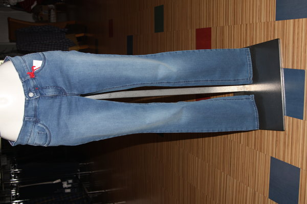 ascari Power 210 Damen-Jeans, bleached used